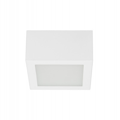 Linea Light Box LED 5W 11 cm Plafoniera Cubetto Soffitto cm 11