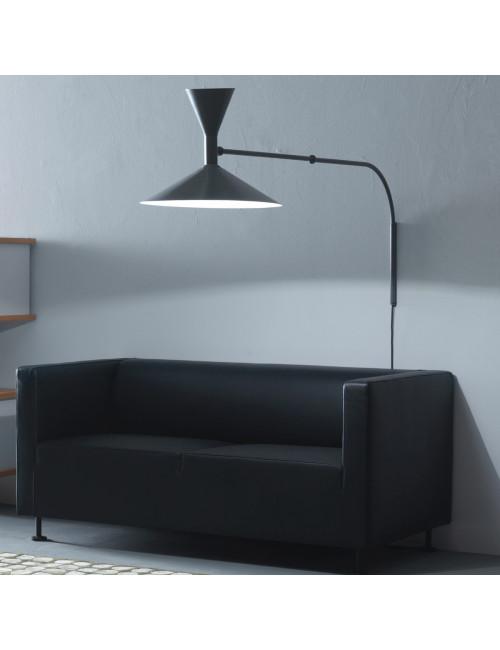 Nemo Lampe de Marseille lampada parete con braccio orientabile