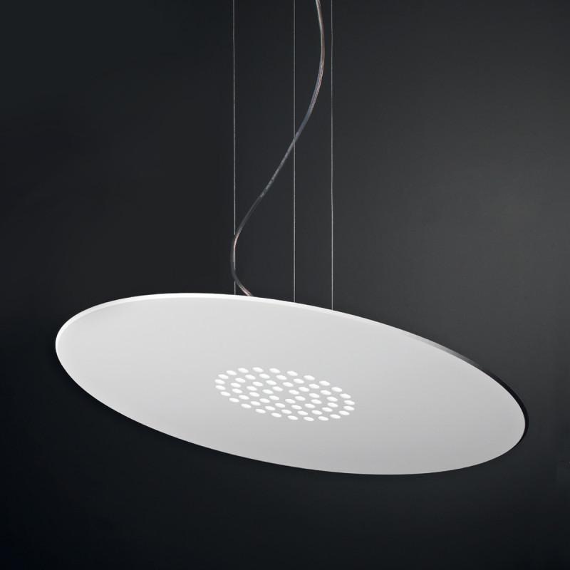 Spoke SS Lampadario Sospensione LED Rotondo Piccolo 47 cm ...