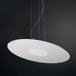 Spoke SS Lampadario Sospensione LED Rotonda Piccola 47 cm