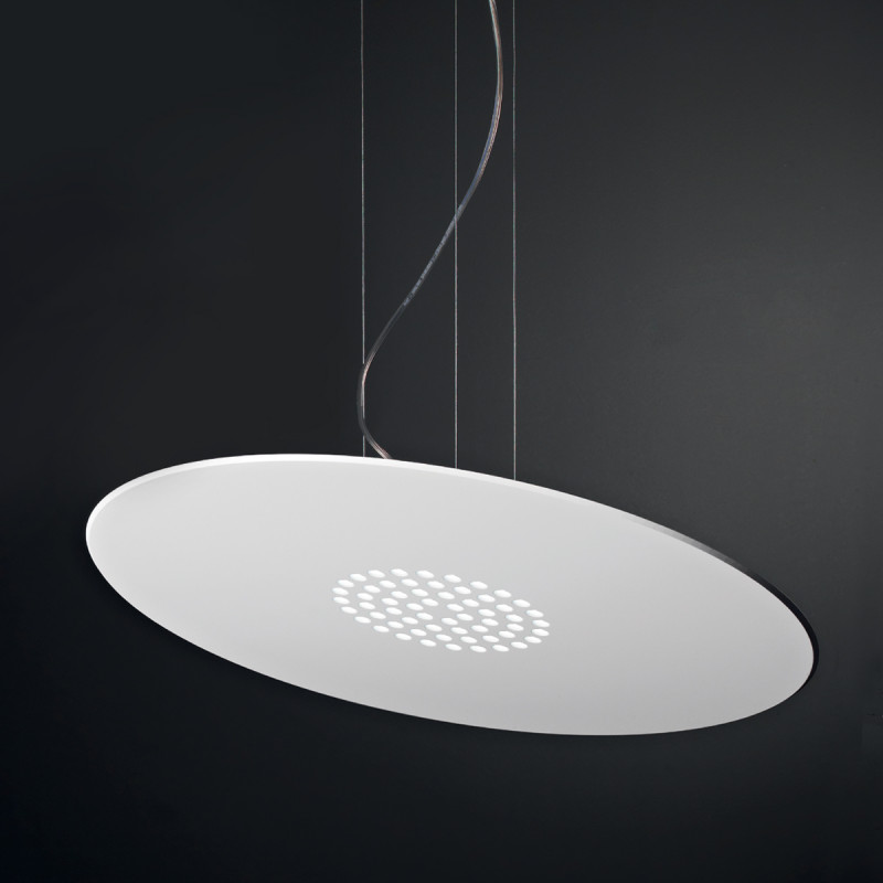 Spoke SM Lampadario Sospensione LED Rotondo Medio 60 cm ...