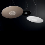 Spoke SL Lampadario Sospensione LED Rotonda Grande 77 cm