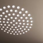 Spoke SS Lampadario Sospensione LED Rotondo Piccolo 47 cm