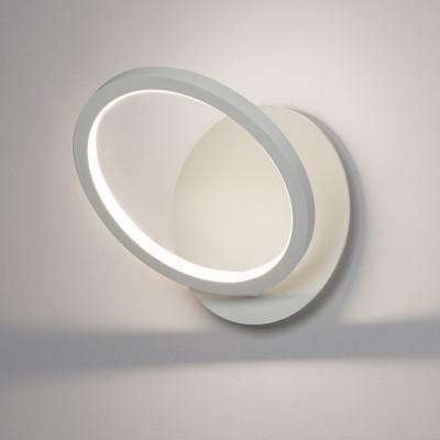 Biluce Opposit Applique LED 20W con Anello Bianco