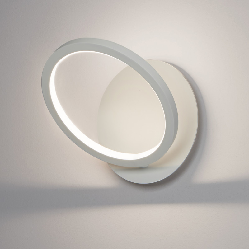 Biluce Opposit Applique LED 20W con Anello Bianco