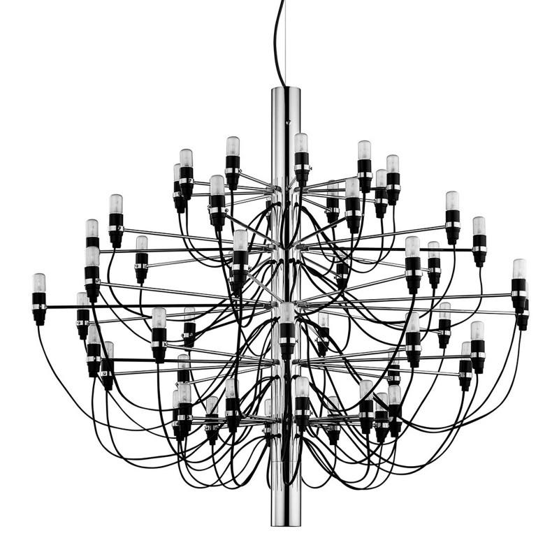 Flos 2097 50 lampadario candeliere 50 luci d 100 cm for Flos lampadario sospensione