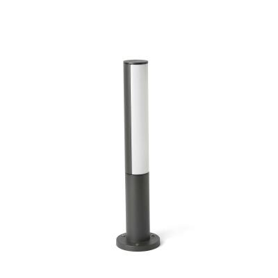 Paletto Lampioncino per Esterni GRIGIO SCURO LED 8W 400