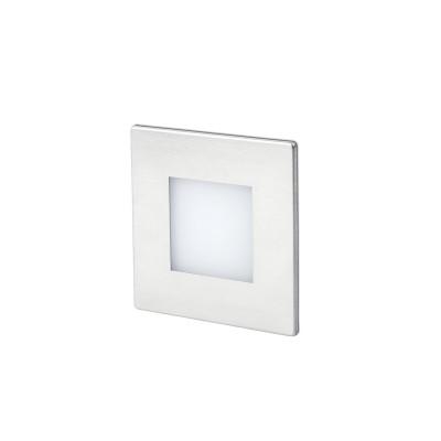 Applique Segnapassi incasso LED 0,8W per esterni Quadrato