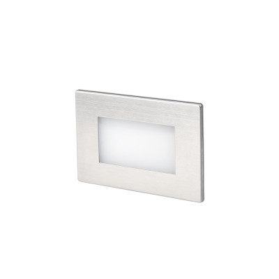 Applique Segnapassi incasso LED 1W per esterni Rettangolare