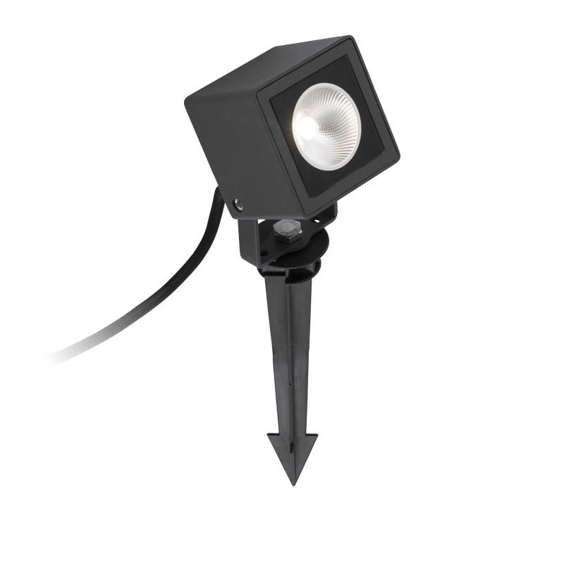 Proiettore Cubetto da terra per esterni LED 7W con picchetto