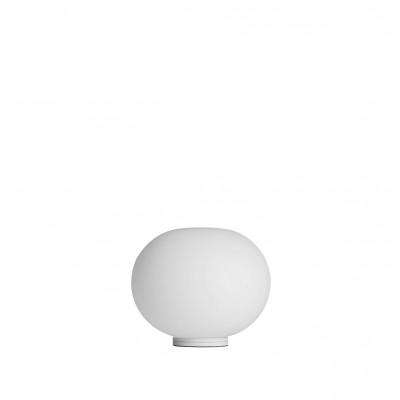 Flos Glo-Ball Basic Zero Lampada Comodino in Vetro bianco D. 19 cm