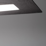 Linea Light MA&DE SQUARE SB Plafoniera LED Rettangolare Cm 109