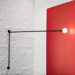 Nemo Potence Pivotante lampada parete a sbalzo 200 cm