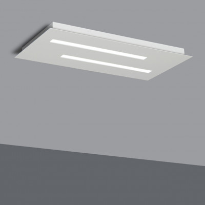 Biluce Tratto Plafoniera rettangolare piccola LED