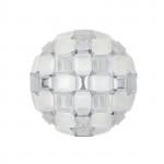 Slamp Mida Parete Soffitto 50 cm - White Platinum