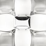 Slamp Mida Parete Soffitto 50 cm - White Platinum Particolare