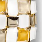 Slamp Mida Parete Soffitto 50 cm - Amber Particolare