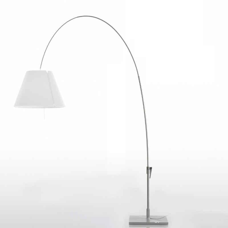 Luceplan Lady Costanza lampada da terra con stelo ad arco
