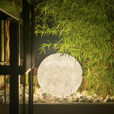 Ex Moon 1 lampada Terra 50 cm per ESTERNO vetroresina