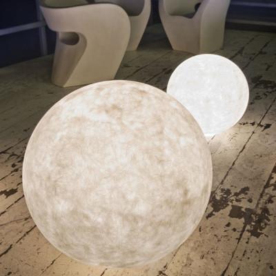 Ex Moon 2 lampada Terra 70 cm per ESTERNO vetroresina